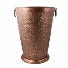 """Bennett Hall"" Antique Copper Large Umbrella Stand"