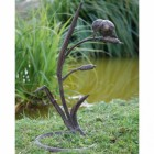"""Haithleywood Farm"" Kingfisher Garden Sculpture"
