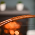 Close-up of the Rustic Handle