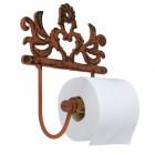 """Isadora Hall"" Cast Iron Toilet Roll Holder"