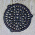 'Sunflower' Cast Iron Air Cover - 5