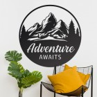 Adventure Awaits in Situ Wall Art