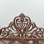 Ornate Heart Design on the Top of the Fireguard