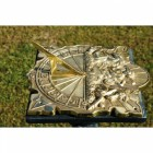 Wall Mounted Anaximander Sundial - 290mm