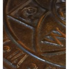 Close up of Antique Brass detail