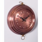 Cooking Pan Inspired Copper Clock