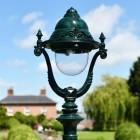 Antique Green Opulent Luminaire