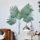 """""""Areca Palm"""" Leaves Wall Art in a Modern Sitting Room"""