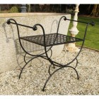 Athens Single Stool, Or Butler Tray Table