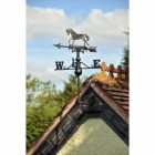 Horse Weathervane on the Gable End