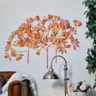 """Autumn Bushes"" Wall Art in a Modern Sitting Room"