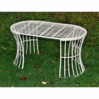 """Table From the """"Avery"""" Cream Garden Furniture Set"""