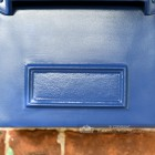 Azure Sky Goldhay Secure Post and Parcel Box Front Plate