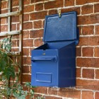 Azure Sky Goldhay Secure Post and Parcel Box With Opening Lid