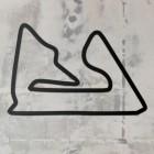 Bahrain International Motor Track Wall Art in Full