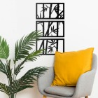 Bamboo Wall Art in the Sitting Room