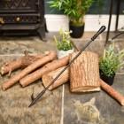 Traditional Fireside Poker of log fires