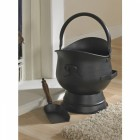 Black Coal Bucket in Situ