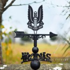 Special Air Service Regiment Weathervane in Situ Outside