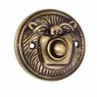 Antique Brass Door Bell push