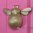 Solid Brass door knocker novelty bee design