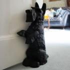 'Digby' The Scottie Dog Door Stop- Black