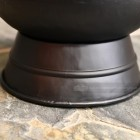 Close-up of the base on the Coal Bucket