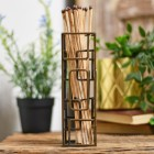 Japanese Style Match stick holder on wooden table