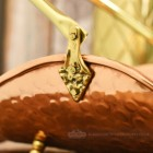 Close-up o fthe Brass Detail on the Handle