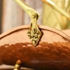 """Paversham"" Classic Copper & Brass Match Stick Holder"