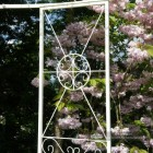Close-up of the Panels on the Gazebo