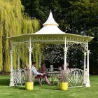 Bandstand Gazebo in Use in the Garden