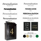 post box personalisation