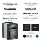 Customisation fonts