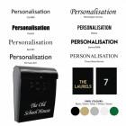Customisation fonts & colours