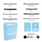Vinyl Personalisation Options
