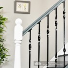 Wrought iron handmade stair spindles