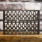 """Classic air brick 9"""" x 6"""" created from cast iron"""