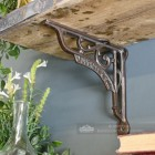 Decorative shelf bracket