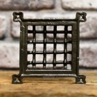 cast iron Air vent cover grill back