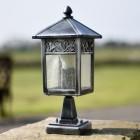 Beautiful traditional stone pillar lantern