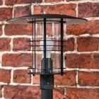 Residential modern lamp post floor standing