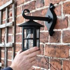 Classic Cylinder Porch Top Fix Wall Light