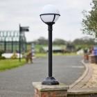 Globe driveway lantern