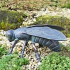 Beautiful Bee sculpture in garden
