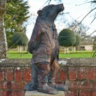 Wind & The Willows Badger sculpture