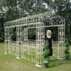 Large robust pavilion walkway