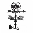 Large Mini Cooper Cast Iron Weathervane