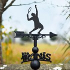 Tennis Player weathervane