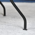 Close up of chair legs